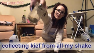 Vlogmas #10 // collecting kief