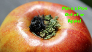 How To Make A Pipe From An Apple