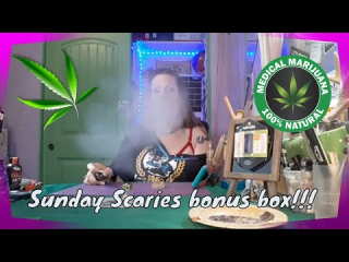 Sunday Scaries CBD Unboxing Bonus Box!! #BeatTheScaries