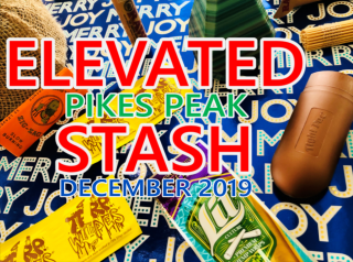 Elevated Stash Pikes Peak Box December 2019 Unboxing