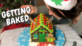 Getting Baked with a Gingerbread House
