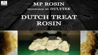 MP Rosin- Dutch Treat Rosin (Sponsored by Dulytek)