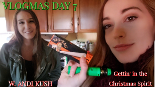 Vlogmas Day 7- Gettin' in the Christmas Spirit!