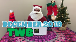 The Weed Box Premium Box December 2019 Unboxing