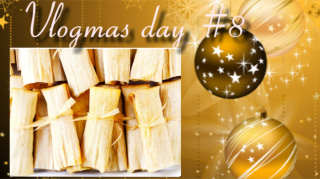 LETS MAKE VEGAN TAMALES!!!/VLOGMAS DAY 8