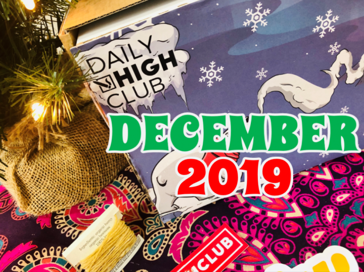Daily High Club El Primo Box December 2019 Unboxing
