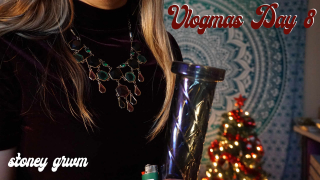 VLOGMAS DAY 8 - Stoney Festive GRWM