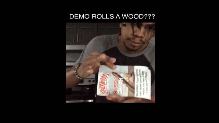Demo rolls his first wood