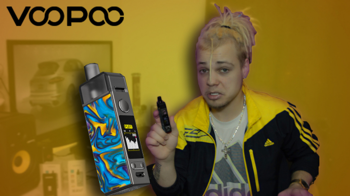 Voopoo NAVI Mod Pod Vaping Kit Review +Unboxing