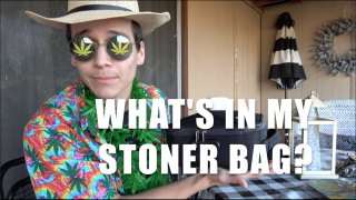 EVERYTHING IN MY STONER BAG (Stashbox by Stashlogix)
