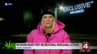 First day of recreational marijuana in Michigan at Exclusive Ann Arbor