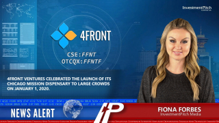 4Front Ventures celebrated the launch of its Chicago Mission dispensary to large crowds on January 1, 2020