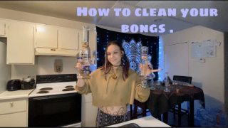 How to clean your glass .