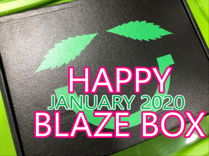 Happy Blaze Box January 2020 Unboxing
