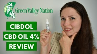 Cibdol Natural CBD Oil 4% Review - Is the Swiss Standard Really Worth Your Money?