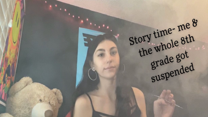 Storytime- First time doing edibles/getting suspended with the whole 8th grade