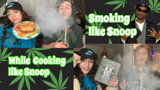 Cooking like Snoop while Smoking like Snoop | Bakedbeauty420