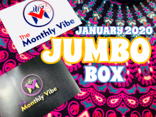 The Monthly Vibe Box Jumbo Box January 2020 Unboxing