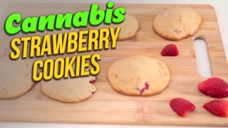 How to make Cannabis Strawberry Cookies | Easy recipes