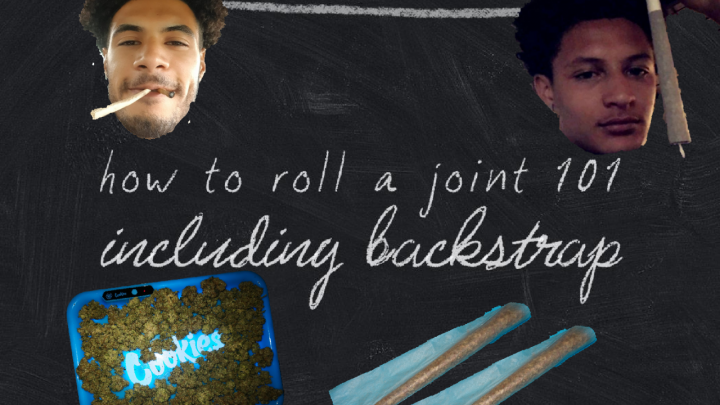 How to roll a joint | frontstrap and backstrap | Spaceboyz