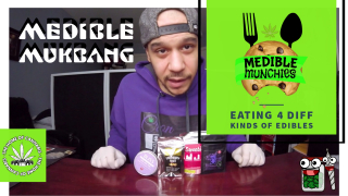 Medible Munchies - Trying 4 Different Edibles