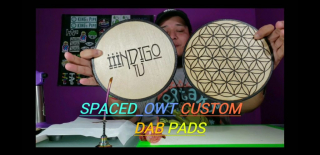 NEW SPACED_OWT CUSTOM DAB PADS