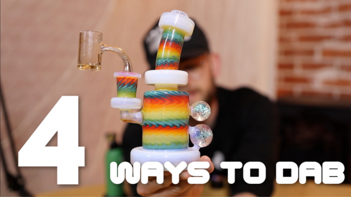 4 Ways To Dab Cannabis Concentrates
