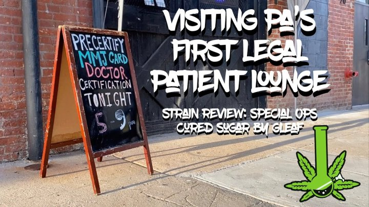 Visiting Pennsylvania's First LEGAL Patient Medicating Lounge