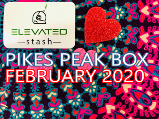 Elevated Stash Pikes Peak Box February 2020 Unboxing