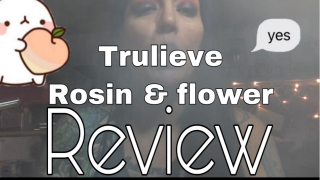 DRINKING Edibles and TRULIEVE ROSIN  / FLOWER REVIEW
