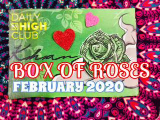 Daily High Club Box of Roses February 2020 Unboxing