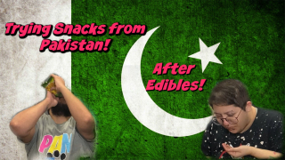 Trying snacks from Pakistan! After Edibles!