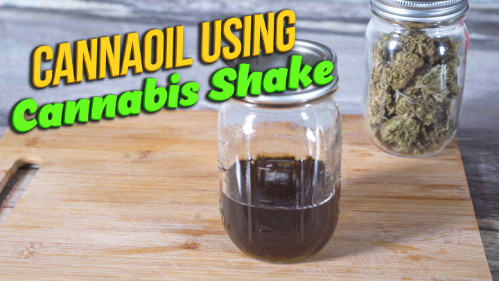 How to make Cannaoil using Marijuana shakes | Best method to minimize odor while making cannaoil.