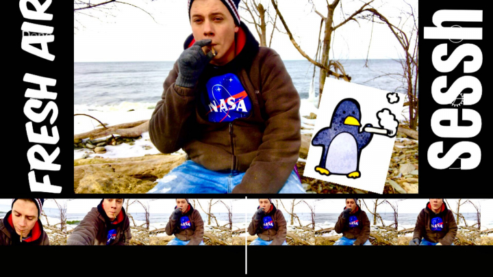 Frozen Beach Nature Sesh - I got sick