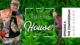The Comweedian, Aldo Caldo In The House  | Gruene House Podcast Ep 4