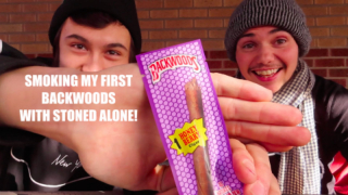 Smoking My First Backwoods With StonedAlone