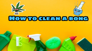 How to clean a bong | Spaceboyz