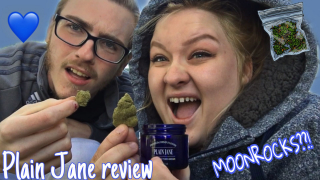 First time trying MOONROCKS!! (Plain Jane CBD Review)