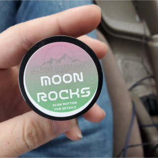 Alpine Dispensary Moonrocks Review and How To Smoke