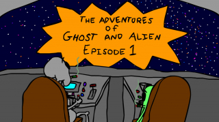 The Adventures of Ghost and Alien: SEASON 2 EPISODE 1 -