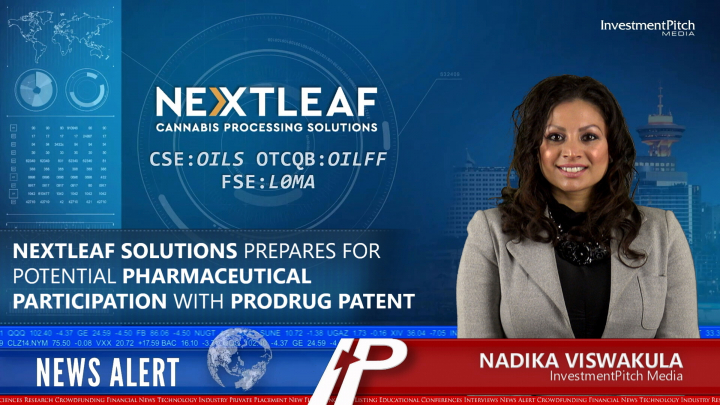 Nextleaf Solutions Prepares for Potential Pharmaceutical Participation with Prodrug Patent