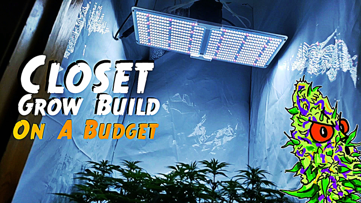 How To Build A Closet Grow Setup   On A Budget (Cost Efficient Under $300)