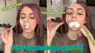 Rolling My First Joint!?!|Mental health update| Bakedbeauty420