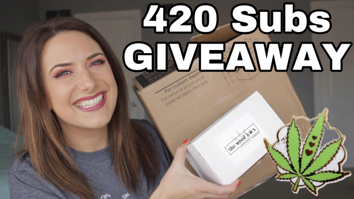 420 SUBS GIVEAWAY The Weed Box - VIP Box & Mystery Box! {Now Open}