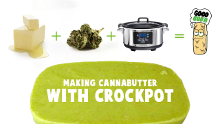 How to make cannabutter with crockpot