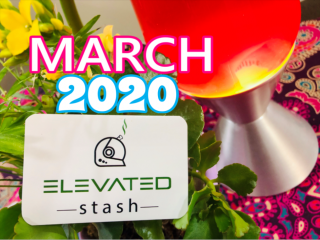 Elevated Stash Pikes Peak Box March 2020 Unboxing