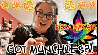GOT MUNCHIES?! I Pizza Bagels! I QUICK & EASY Munchie Ideas