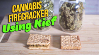 How to make Marijuana Firecracker using Kief | 2 ways to make firecracker edibles