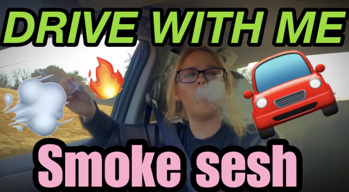 Drive With Me Smoke Sesh | Brittany Allison