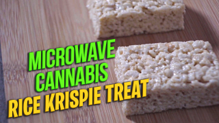 Cannabis Rice Krispie Treat | How To Make Weed Edible Using Microwave
